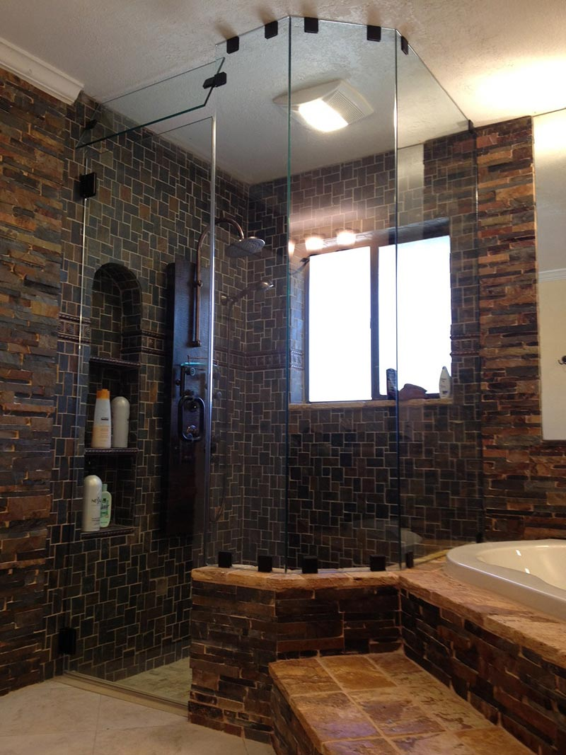 Shower Doors, Enclosures, Custom Glass