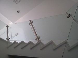 Glass Banister