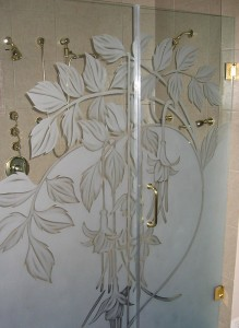 Custom Shower Door Glass